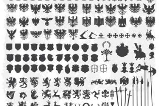 Vorlagen für Wappen